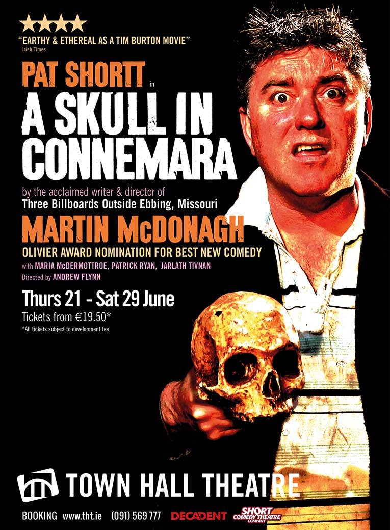 A Skull in Connemara - Martin McDonagh - Poster - Decadent Theatre Company