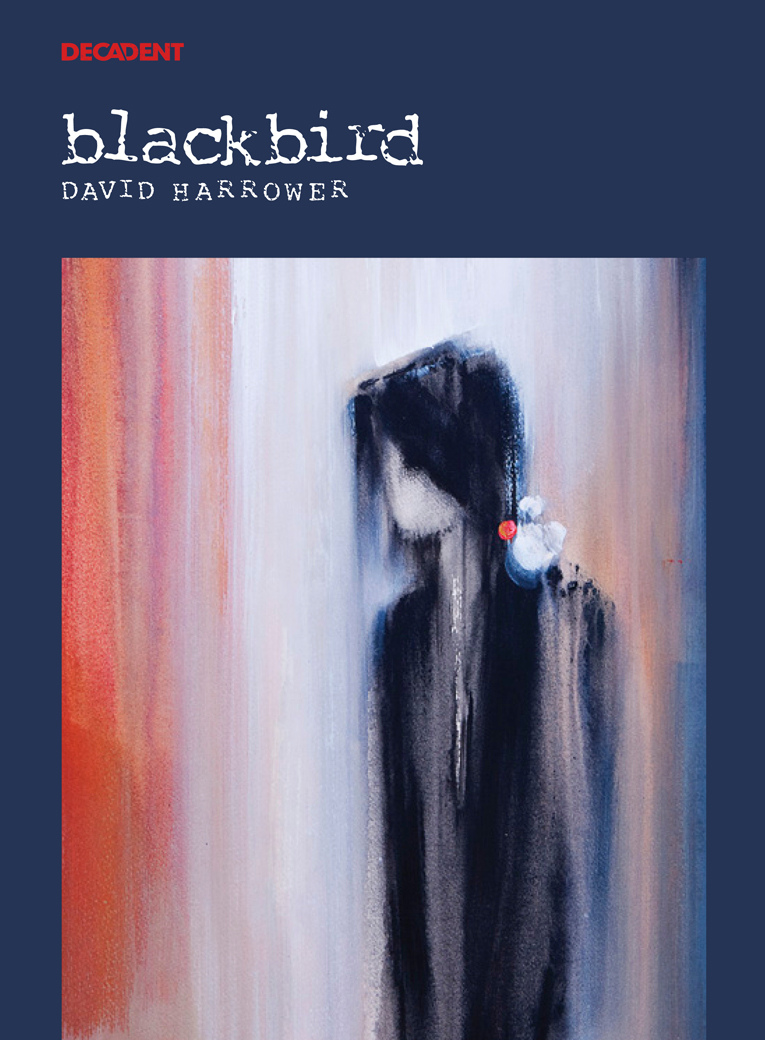 Blackbird Poster for Decadent Theatre Company's production of the David Harrower play
